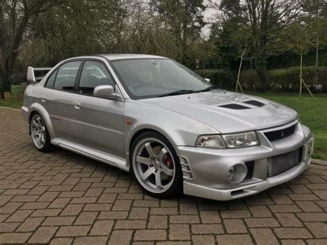 Mitsubishi Lancer Mileage by 1999 Mitsubishi Lancer Evo 6 Gsr Ralliart Vi 47k Low