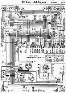 Wiring Diagrams Of 1963 Chevrolet Corvair All Models