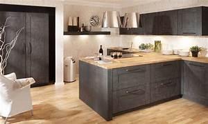 Cuisine équipée Bois : cuisine equipee bois cuisiniste rouen ~ Premium-room.com Idées de Décoration