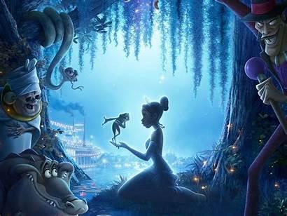 Frog Princess Wallpapers Desktop Background Disney Tiana