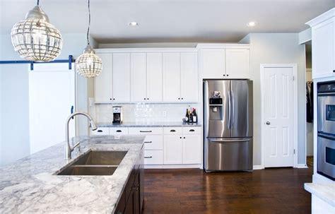 contemporary white kitchens modern white kitchen with espresso island contemporary 2551