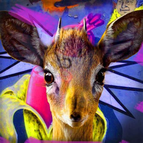 Bambi Poster Print by Mascha de Haas - Walmart.com ...