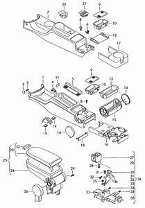Volkswagen Jetta Bracket Armrest  Arm Support  Arm Rest