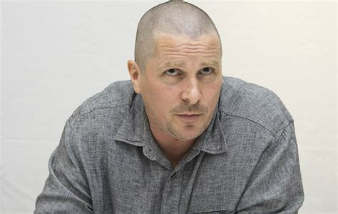 See What Christian Bale Looks Like After Shaving His Head