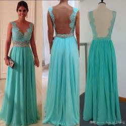 cheap bridesmaid dresses 30 2014 cheap prom dresses green chiffon and sheer back with crew neckline sheath beaded floor