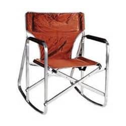 stylish cing rocking back folding director s chair 191550 chairs at sportsman s guide