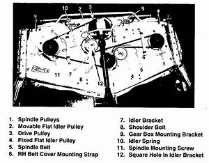 30 Cub Cadet Mower Belt Diagram
