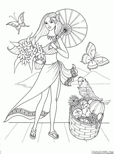 disegni da colorare di ragazze alla moda disegni da colorare ragazze alla moda