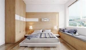 White Modern Bedroom Apartment