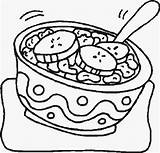 Cereal Box Drawing Coloring Pages Getdrawings sketch template