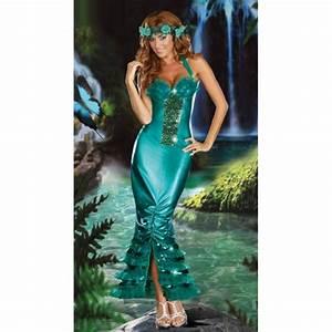 Deguisement De Sirene : costume la sirene deguisement femme adulte ~ Preciouscoupons.com Idées de Décoration