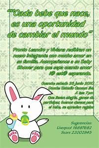 Invitaciones para baby shower con frases y poemas Tarjetas para Baby Shower