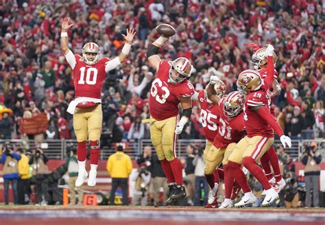 nfc championship takeaways  ers win  packers