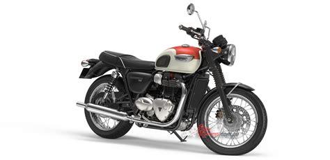 Review Triumph Bonneville T100 by All New Triumph Bonneville T100 T100 Black Bike Review