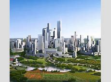 CarFree City China Builds Dense Metropolis from Scratch