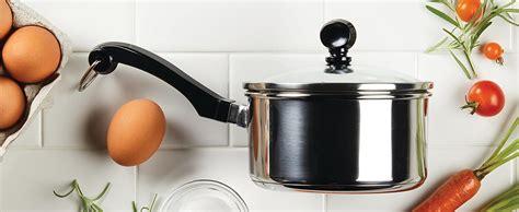 amazoncom farberware classic stainless steel cookware pots  pans set  piece pots