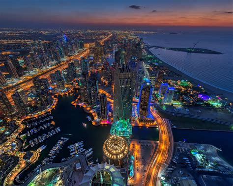 Dubai Blackout Horizon Photography The Air United Arab