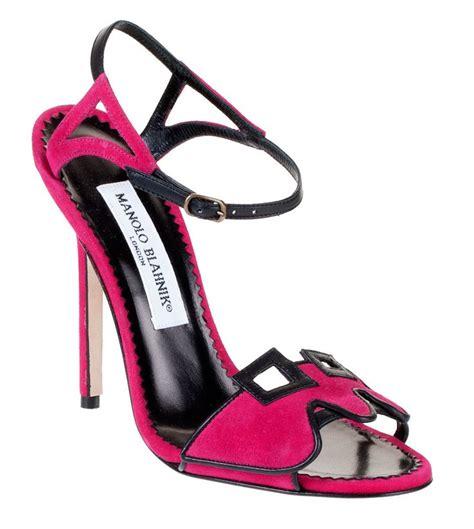 manolo blahnik manolo blahnik ruggio high heel sandal chaussures de