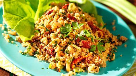 cuisine israelienne salade de couscous croustillante