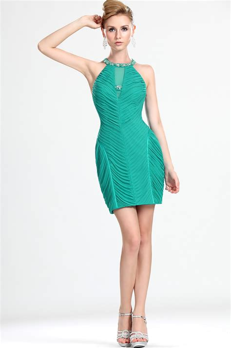 Green Cocktail Dresses For Juniors  Pjbb Gown