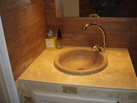 cuisine types salle de bains en pierres naturelles azur agencement
