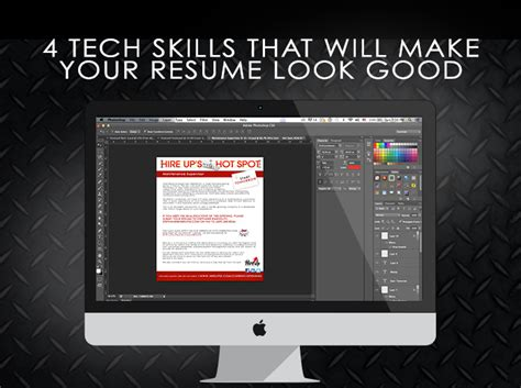 4 tech skills that will make your resume look hire
