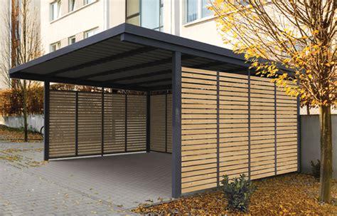 Carport Holz & Metall Vom Hersteller Kaufen  Gerhardt Braun