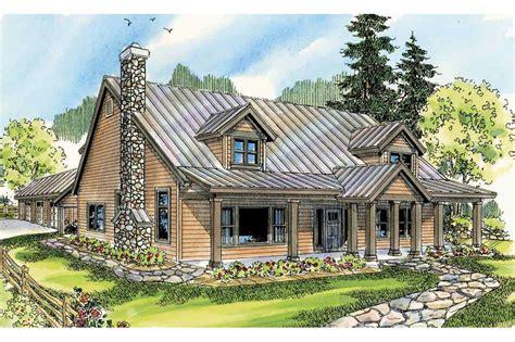 Lodge Style House Plans  Elkton 30704  Associated Designs