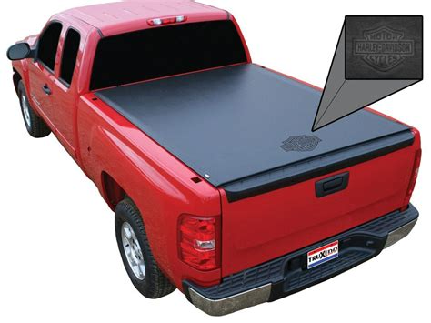 Truxedo Bed Cover by Truxedo Lo Pro Qt Harley Davidson Edition Tonneau Cover