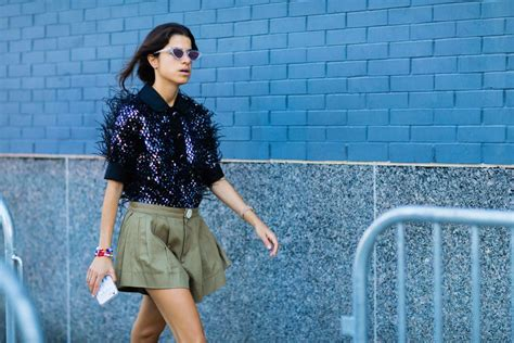 More of the Best Street-Style Looks From New York Fashion ...