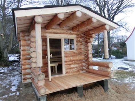 sauna schleswig holstein blockhaus schleswig holstein kundenbeispiel einer finsterbusch naturstamm sauna