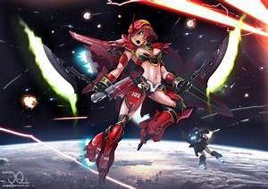 Red Comet by greathandJP on DeviantArt