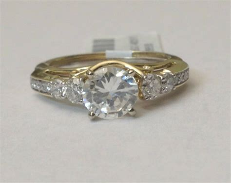 14k yellow gold diamonds station solitaire wrap ring guard solitaire enhancer ebay