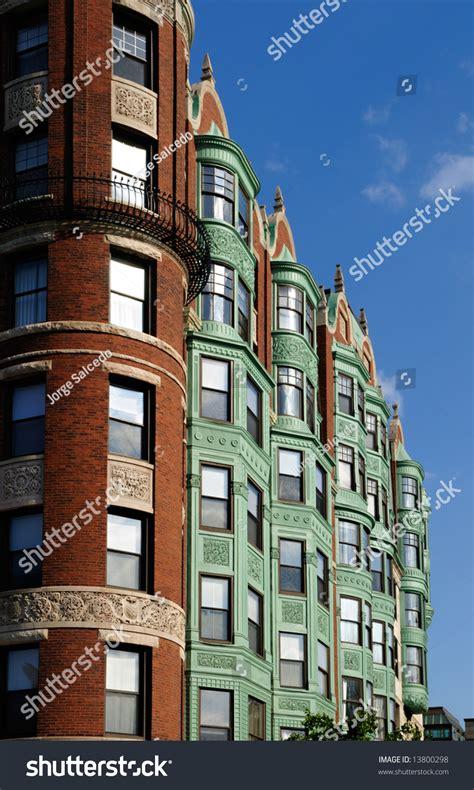 facade  barnes mansion  boston verdigris copper patina awning  bay windows