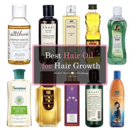 Best Hair Oil In India For Hair Growth & Thick Hair Our