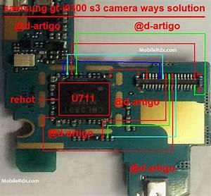 Fix Galaxy S3 I9300 Camera Problem Jumpers