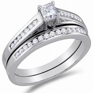 cheapest 10k white gold diamond classic traditional ladies With orthodox wedding rings for sale
