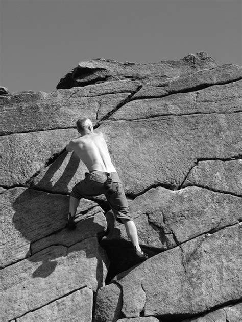 File Rock Climbing Burbage Rocks Geograph