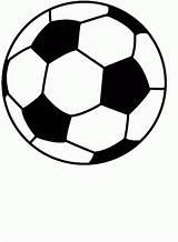 Printable Balls Soccer Coloring Popular sketch template