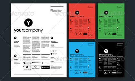 13 Great Brand Book Guidelines Indesign Templates