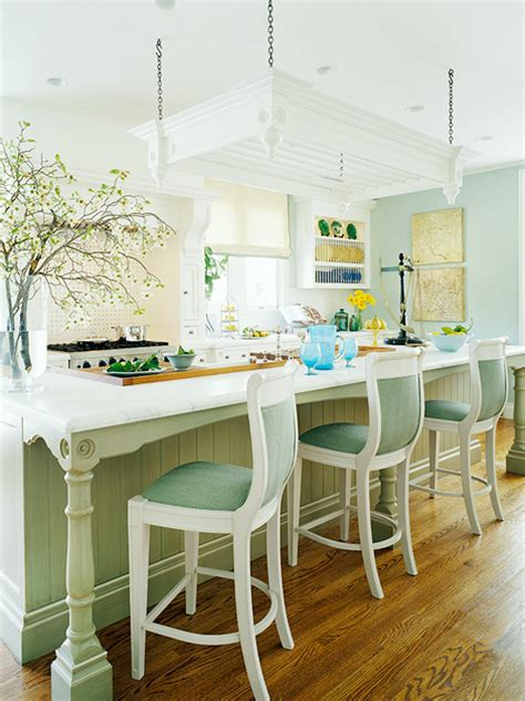 Custom Kitchen Islands That Look Like Furniture by Our Most Beautiful Kitchens Traditional Home
