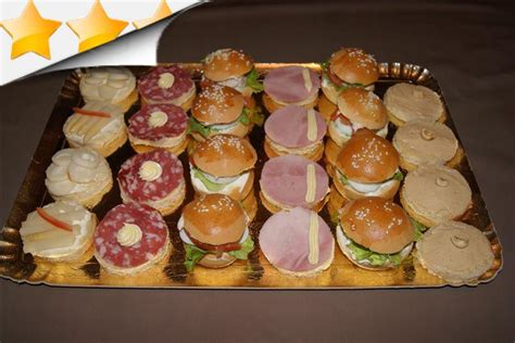 canapé buffet froid recettes canapes pour buffet 28 images toutes nos