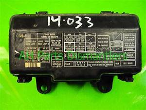 Buy  100 2002 Honda S2000 Engine Fuse Relay Box 38250