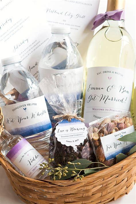 color wash wedding  basket wedding  gifts