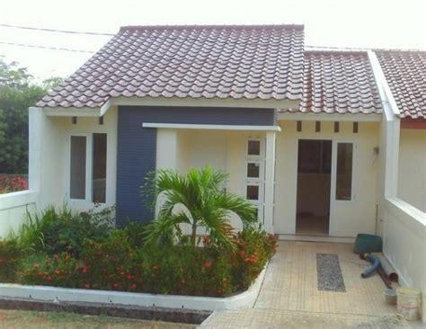 desain rumah minimalis type   inilah warna cat