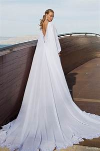 nurit hen summer 2014 wedding dresses part 2 wedding With wedding dress with long cape