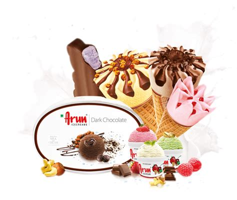 arun ice creams threeknotz