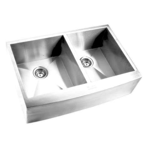 stainless apron front sink elkay farmhouse apron front undermount stainless steel 32