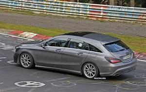 Mercedes Benz Cla 180 Shooting Brake : spied new mercedes benz cla cla shooting brake paul tan ~ Jslefanu.com Haus und Dekorationen