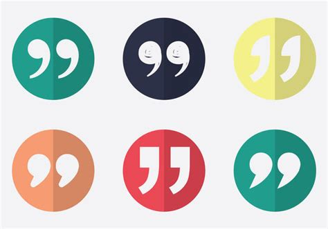 Free Quotation Mark Vector Icon Free Vector Download